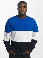 Urban Classics Пуловер 3 Tone синий