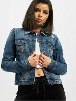 Urban Classics джинсовая куртка Ladies Denim синий