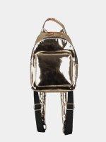 Urban Classics Backpack Mini Metallic gold colored
