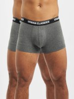 Urban Classics Bokserit Mens Double Pack harmaa