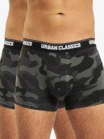 Urban Classics Boxerky 2-Pack Camo kamufláž
