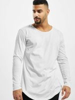 Urban Classics Camiseta de manga larga Long Shaped Fashion blanco