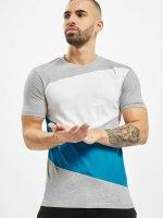 Urban Classics Camiseta Zig Zag gris