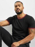 Urban Classics Camiseta Ringer negro