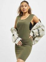 Urban Classics Dress Deep Armhole olive