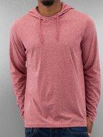 Urban Classics Hoodie Melange Jersey red