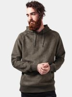 Urban Classics Hoody Imitation Suede olive