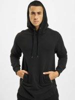 Urban Classics Hoody Pleat Sleeves Terry HiLo zwart