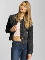 Urban Classics Jeansjackor Ladies Denim svart