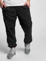 Urban Classics joggingbroek Nylon Training zwart