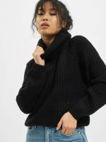 Urban Classics Jumper Short Turtleneck black