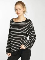 Urban Classics Jumper Oversize Stripe black