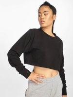 Urban Classics Jumper Terry Cropped black