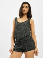 Urban Classics jumpsuit Ladies Melange Hot grijs