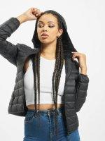Urban Classics Kurtki przejściowe Basic Hooded Down czarny