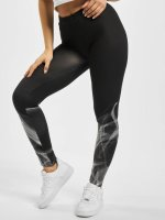 Urban Classics Leggings Ladies Smoke nero