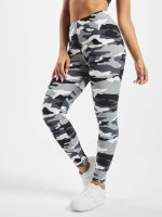 Urban Classics Leggings/Treggings Ladies Camo kamuflasje