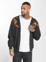 Urban Classics Lightweight Jacket Pattern Arrow Windrunner black