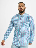 Urban Classics overhemd Tricolor Big Checked paars