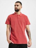Urban Classics Poloshirt Garment Dye Pique rot