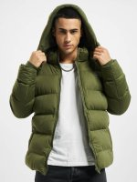 Urban Classics Puffer Jacket Hooded Boxy Puffer olive