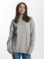 Urban Classics Pulóvre OversizeSweatshirt šedá