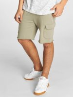 Urban Classics Shorts Open Edge Terry Cargo olive