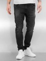 Urban Classics Skinny jeans Ripped zwart