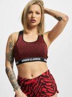 Urban Classics Sports-BH Active Melange Logo red
