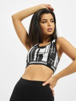 Urban Classics Sports Bra Graphic black