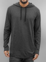 Urban Classics Sweat capuche Jersey gris