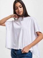 Urban Classics T-paidat Overlap Turtleneck valkoinen