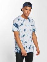 Urban Classics T-Shirt Batik blau