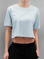 Urban Classics t-shirt Ladies Oversized Short blauw