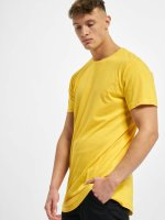 Urban Classics t-shirt Shaped Oversized Long geel