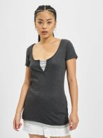 Urban Classics T-Shirt Two Colored gris