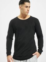 Urban Classics T-Shirt manches longues Long Shaped Fashion noir
