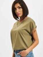 Urban Classics T-shirt Extended Shoulder oliv
