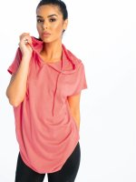 Urban Classics T-Shirt Jersey Hooded orange