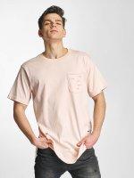 Urban Classics T-Shirt Ripped rosa