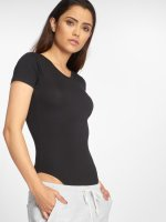 Urban Classics T-Shirt Ladies Lace Up schwarz