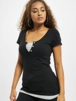 Urban Classics T-Shirt Two Colored schwarz