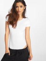 Urban Classics T-Shirt Ladies Lace Up white