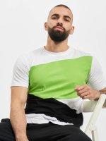 Urban Classics t-shirt Zig Zag wit