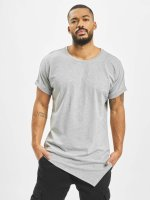 Urban Classics T-shirts Asymetric Long grå