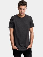Urban Classics Tall Tees Shaped Melange Oversized Long grau