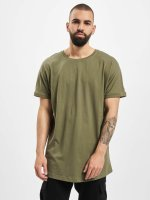 Urban Classics Tall Tees Long Shaped Turnup oliven