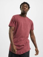 Urban Classics Tall Tees Shaped Melange Long punainen