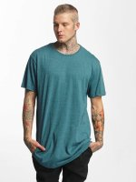 Urban Classics Tall Tees Shaped Melange Oversized Long turquois