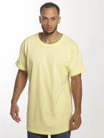 Urban Classics Tall Tees Long Shaped Turnup yellow